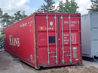 Quality 20ft, 40ft, 45ft and HC sea storage containers