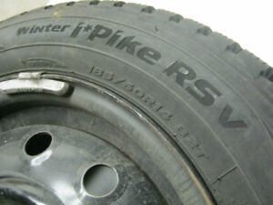 Hankook Winter Tires on Rims, Only used for 1 season!!!