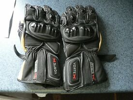 Spada Vortex Leather Motorcycle Gloves Size: Small