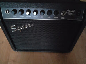 Fender Squier Guitar Amp - 15G Guitar Amplifier - paid $179