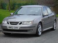 SAAB 9-3 2.0t 2003 VECTOR,2 OWNERS,LONG MOT,EXCELLENT CONDITION