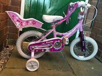 """Girls 12"""" Bike (Hawk) - £15"""