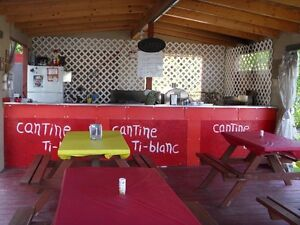 cantine sur camping