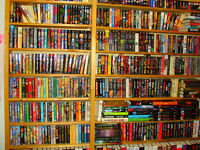 Book Collection - 900 books