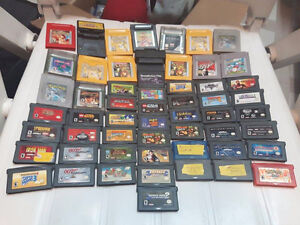 Gameboy/GBA games Pokemon Red Yellow Silver wario zelda etc!!