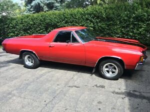 A beautiful example of a 1972 El Camino