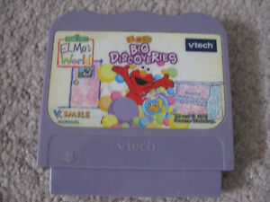 V-tech Elmo's Big Discoveries game cartridge