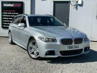 2012 BMW 5 Series 2.0 520D M SPORT TOURING 5d 181 BHP Estate Diesel Manual