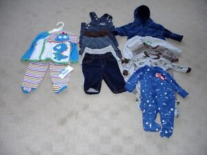 11 Items- I New With Tag-  $5,$3,$2 -All 6 months