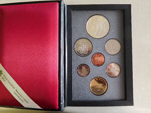 Canada Silver Double Dollar Sets - 1973 - 1999