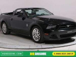 2014 Ford Mustang V6 Premium CONVERTIBLE MAGS CUIR BLUETOOTH