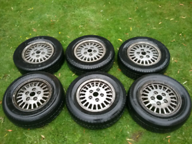 Rover SD1 mk2 Alloy wheels
