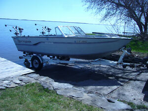 20' Aluminum Salmon Fishing Boat