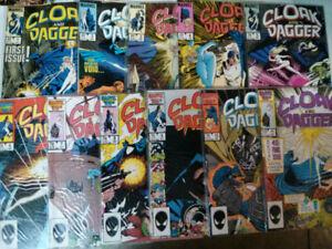 Marvel comic lot 1980s Cloak and Dagger complete 1-11 run$15