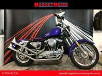 1984 A HARLEY-DAVIDSON SPORTSTER XLH 1000 CUSTOM BIKE