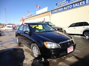 2005 Kia Spectra EX Sedan E-TESTED & CERT