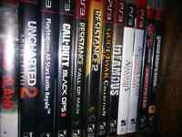 Ps3 games, $10 each or best offer