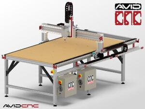 CNC 5 pi x 8 pi,  2.2 Kw neuve, à vendre