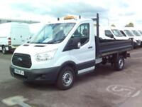 Ford Transit T350 S/CAB 125PS TIPPER DIESEL MANUAL WHITE (2016)