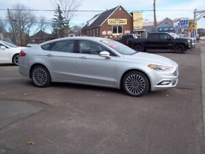 2017 Ford Fusion SE -4 Door-AWD  St # 1038