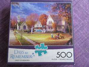 Street Of Memories - Buffalo 500 Piece Puzzle  Really Pretty