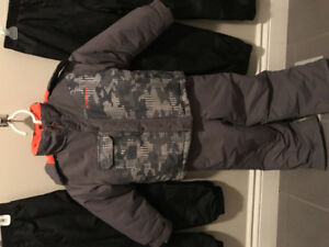 Snow suit for five-year-old boy