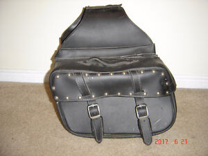 Heavy Duty Leather Saddle Bags