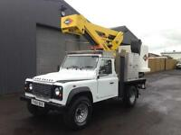 2010 (60) Landrover defender 110 2.4TDCi Versalift Cherry Picker / Access Lift