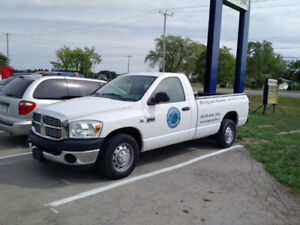 2007 Dodge 2500 Pick up Reg Cab 8 ft box