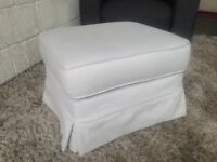 New Furniture Village Footstool Loose covers removable covers Local Delivery Available