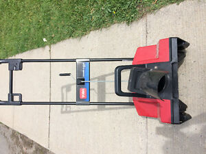 Electric Toro Power curve snow blower