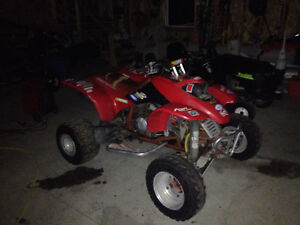 2000 honda 400ex with lots of parts