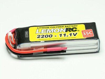 Lipo Form - LiPo Akku 3S LEMONRC 2200 - 11.1V (35C), Kompakte Bauform, TOP-Qualität!