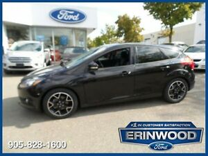 "2014 Ford Focus SE4CYL/AUTO/PGROUP/17"" BLACK ALLOYS/SYNC"