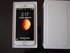 iPhone 6 64GB Gold Telus No Contract (less than 6 months old)