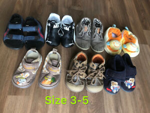 Shoes a lot for boys size 3-5
