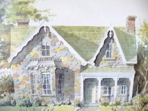 Rustic Country House by Art Legiehn Signed Artist Proof Stratford Kitchener Area image 3