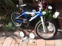boy's bike (with or without stabilisers)