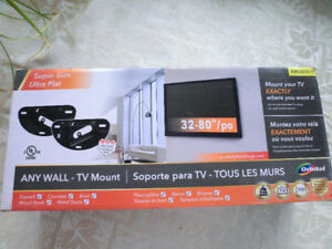 "ORBITAL"" Any Wall TV Mount"