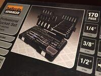 Brand New Halfords Advanced 170 Piece Socket & Ratchet Spanner Set RRP: £299.99!!