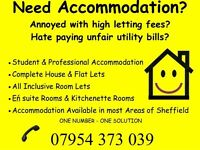 Students Attractive self contained Apartments Including all bills