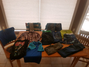 Lot of size 7-8 boys clothes