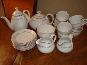 'Crown Essex' Tea & Coffee Service, 24 pieces Peterborough Peterborough Area image 1