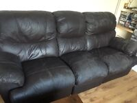 3and 2 seater recliners