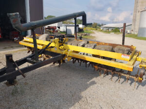 AerWay 15 Foot Aerator Vertical Tillage Tool For Sale