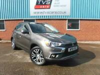 2018 Mitsubishi Asx 2.2 4 5dr Auto 4WD, Pan roof, full leather, sat nav, rear ca