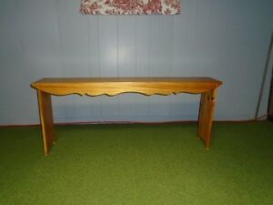 Bench----handmade----pinewood