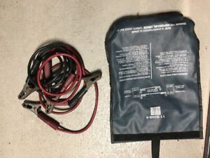 Battery Jumper Cables & Storage Case