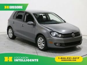 2012 Volkswagen Golf Comfortline TDI MAGS A/C GR ELECT BLUETOOTH