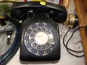 Pre-1980's Black Nortel Home Telephone: It Works !!!